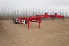 骏通牌JF9402TJZG型集装箱运输半挂车图片