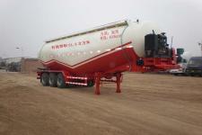 骏通牌JF9340GFL型低密度粉粒物料运输半挂车图片