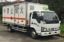 庆铃牌QL5060XRYA5KAJ型易燃液体厢式运输车图片