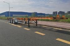 中集牌ZJV9400TJZSZ05型集装箱运输半挂车图片