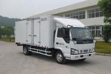 庆铃牌QL5040XXYA7HAJ型厢式运输车图片