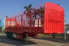 中集牌ZJV9402CCYSZ型仓栅式运输半挂车