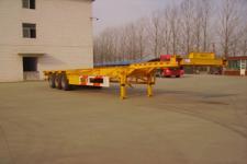 银盾牌JYC9400TJZ型集装箱运输半挂车图片