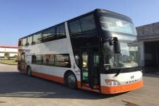 安凯牌HFF6110GS01CE5型双层城市客车
