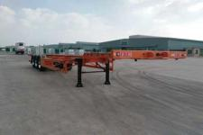 新日钢牌FFR9401TJZG型集装箱运输半挂车图片