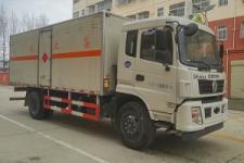 程力威牌CLW5160XRYE5型易燃液体厢式运输车图片