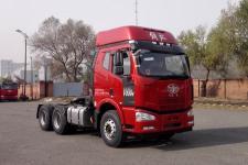 解放牌CA4250P63K2T1E5型平头柴油半挂牵引汽车图片