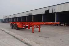 运力牌LG9400TJZ型集装箱运输半挂车图片