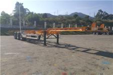 中集牌ZJV9400TJZSZB型集装箱运输半挂车图片