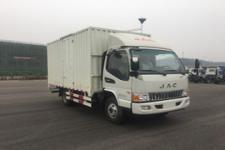江淮牌HFC2043XXYP91K1C4V-S型越野厢式运输车图片