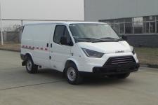江铃牌JX5045XXYMJ型厢式运输车图片