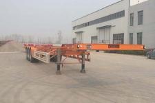 鸿运达牌ZZK9403TJZ型集装箱运输半挂车图片