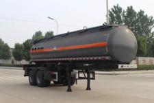 润知星牌SCS9350GFW型腐蚀性物品罐式运输半挂车图片