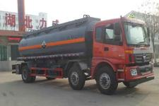 中汽力威牌HLW5252GFW5BJ型腐蚀性物品罐式运输车