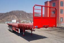 鑫华驰12.5米33.8吨3轴平板半挂车(THD9401P)