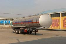 通亚达牌CTY9401GRY36型易燃液体罐式运输半挂车图片
