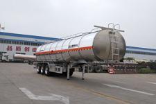 盛润牌SKW9407GRYL型铝合金易燃液体罐式运输半挂车图片