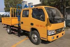 国五东风多利卡双排垂直升降式高空作业车13872881997