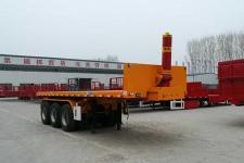 鲁际通7.5米32.3吨3轴平板自卸半挂车(LSJ9400ZZXP)