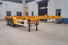 郓宇牌YJY9403TJZ型集装箱运输半挂车图片