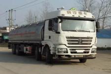 程力威牌CLW5310GYYLS5型铝合金运油车
