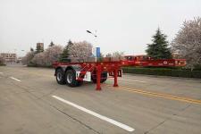骏通牌JF9350TJZG20型集装箱运输半挂车图片