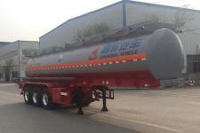 昌骅牌HCH9406GFW19型腐蚀性物品罐式运输半挂车图片