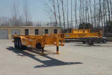 恒真牌MKW9400TJZE型集装箱运输半挂车图片
