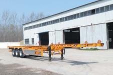 梁博牌TYS9400TJZE型集装箱运输半挂车图片