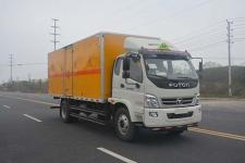 多士星牌JHW5162XRYB型易燃液体厢式运输车图片