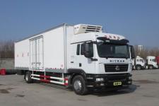 汕德卡牌ZZ5186XLCN711GE1型冷藏车
