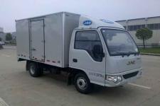 江淮牌HFC5030XXYPW4E2B3V型厢式运输车