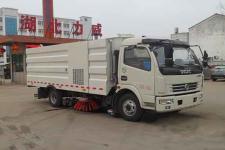中汽力威牌HLW5110TXS5EQ型洗扫车图片