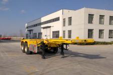 锣响牌LXC9350TJZ型集装箱运输半挂车图片