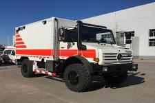 北铃牌BBL5080XJH型救护车