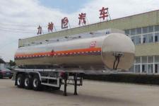 醒狮牌SLS9400GRYA型铝合金易燃液体罐式运输半挂车图片