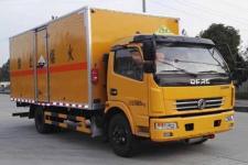 大力牌DLQ5110XFWEQ型腐蚀性物品厢式运输车