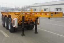 龙亿达牌CYL9402TWY型危险品罐箱骨架运输半挂车图片