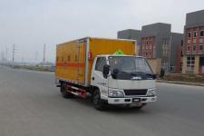 江特牌JDF5060XRGJ5型易燃固体厢式运输车