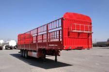 力俊牌LJP9400CCYE型仓栅式运输半挂车图片