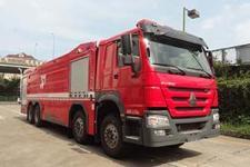银河牌BX5410GXFSG230/HW5型水罐消防车图片