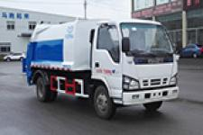 云马牌YM5072ZYS5型压缩式垃圾车