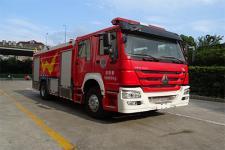 云鹤牌WHG5200GXFPM80型泡沫消防车图片