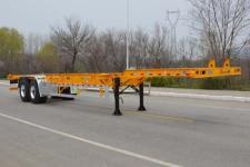 天骏德锦牌TJV9350TJZH型集装箱运输半挂车图片