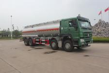 绿叶牌JYJ5317GFWE型腐蚀性物品罐式运输车图片