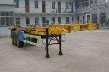 梁山扬天牌SDB9405TJZE型集装箱运输半挂车图片