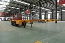 承威牌GCW9400TJZ型集装箱运输半挂车图片