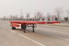 梁郓8.6米15吨1轴平板运输半挂车(SLY9180TPB)