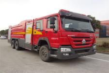金盛盾牌JDX5330GXFPM180/H5型泡沫消防车