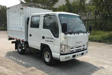 庆铃牌QL5040CCYA6EWJ型仓栅式运输车图片